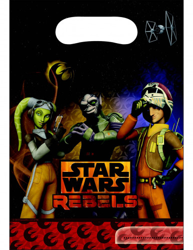 6 Partytüten Star Wars Rebels