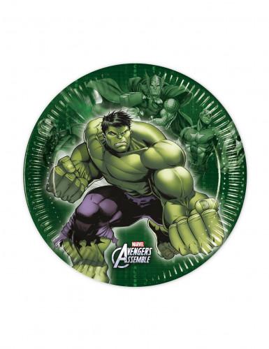 8 Avengers™ Pappteller klein
