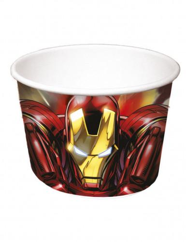 8 Iron Man Avengers™-Pappschalen