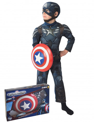 Captain America The Return of the First Avenger™-Kostüm für Kinder