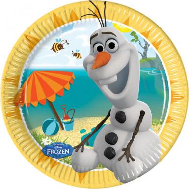 8 kleine Teller Olaf