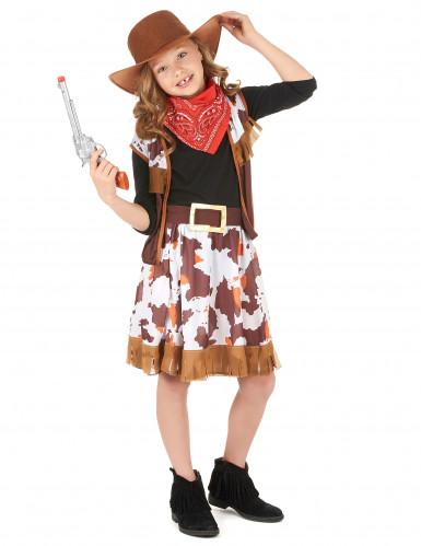 Cowgirl-Verkleidung für Mädchen