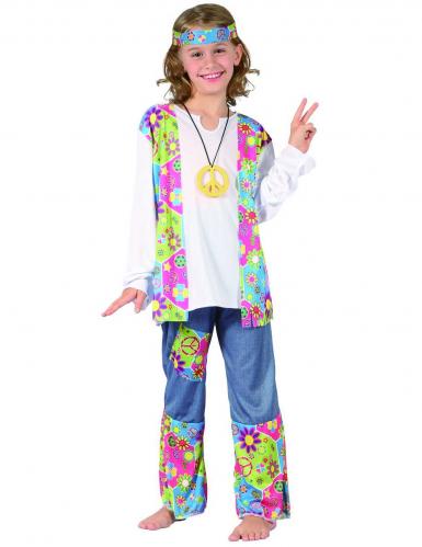 Kinderkostüm für ein Hippie Mädchen