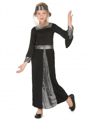 Kostüm für Mädchen Mittelalterliche Prinzessin