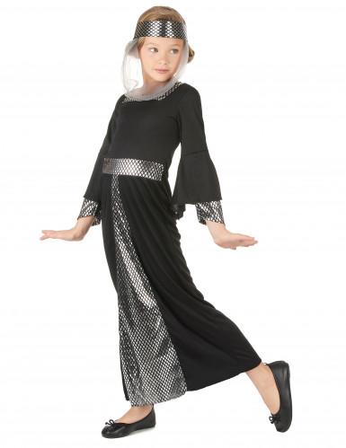 Kostüm für Mädchen Mittelalterliche Prinzessin-1