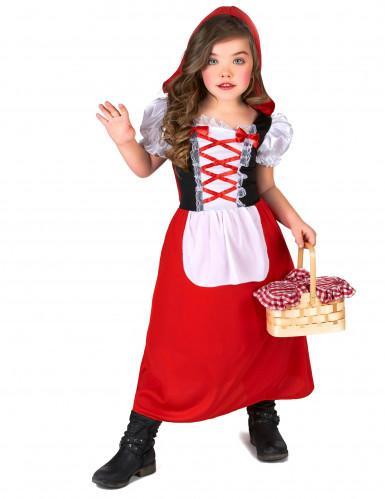 Verkleidung als Rotkäppchen für Mädchen