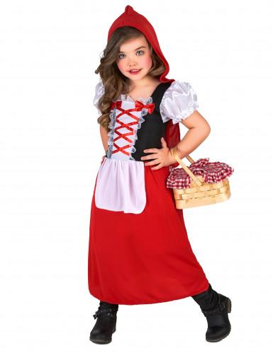 Verkleidung als Rotkäppchen für Mädchen-1