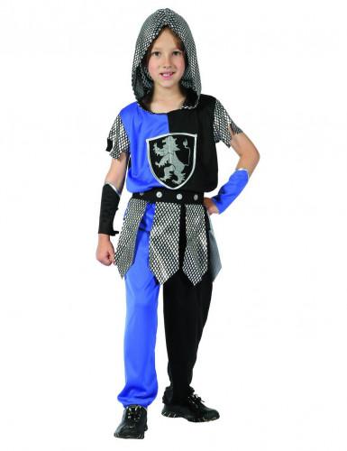 Ritter-Kostüm Blau Jungen