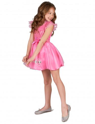 Pinkfarbenes Prinzessinnen-Kostüm für Mädchen-1