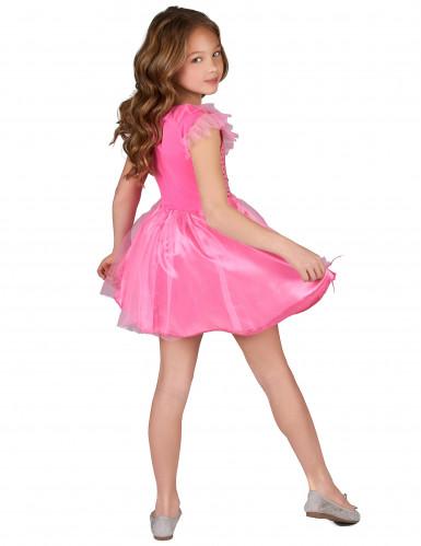 Pinkfarbenes Prinzessinnen-Kostüm für Mädchen-2
