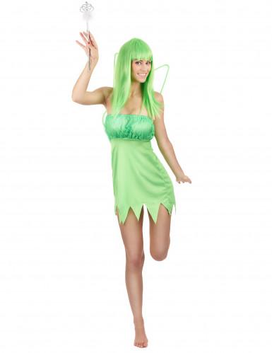 Grüne Fee Kostüm Damen