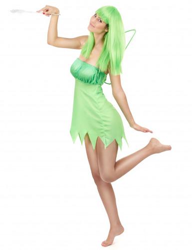 Grüne Fee Kostüm Damen-1