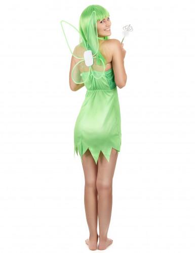 Grüne Fee Kostüm Damen-2
