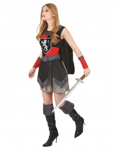 Mittelalterlicher, weiblicher Ritter-1