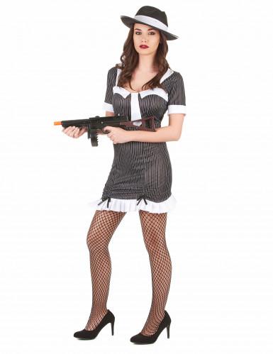 Gangster-Kostüm für Damen-1