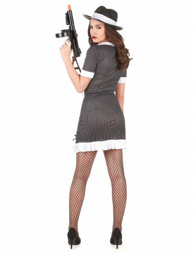 Gangster-Kostüm für Damen-2