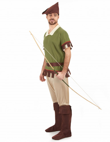 Robin Hood Kostüm für Herren grün-braun-1