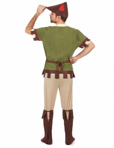 Robin Hood Kostüm für Herren grün-braun-2