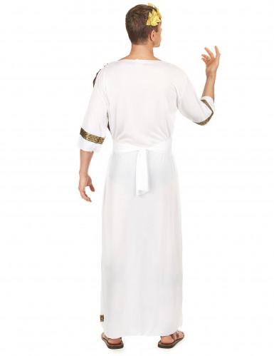 Römisches-Adelskostüm für Herren braun-weiss-goldfarben-2