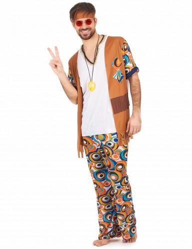 Hippiekostüm für Männer-1