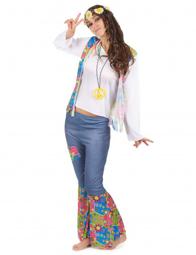 Hippie Kostüm für Frauen-1