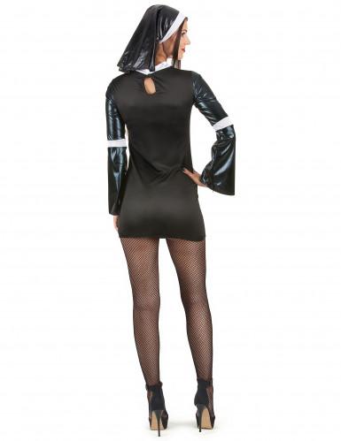 Sexy Nonnen Kostüm für Frauen-2