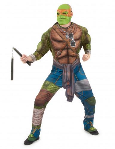 Michelangelo™-Kostüm aus Ninja Turtles™ für Erwachsene -1