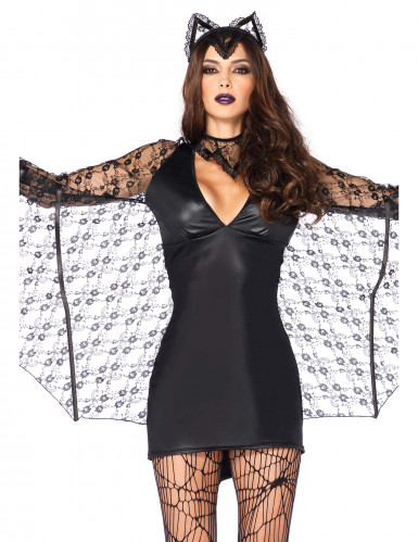 Sexy Fledermaus-Kostüm für Damen-1