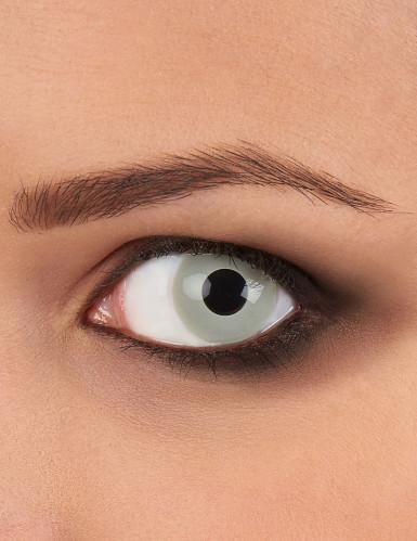Graue Kontaktlinsen - Zombie Halloween