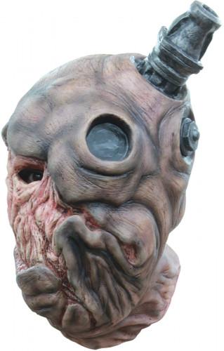 Frankenstein Army™ Zombie-Soldaten Maske beige-braun