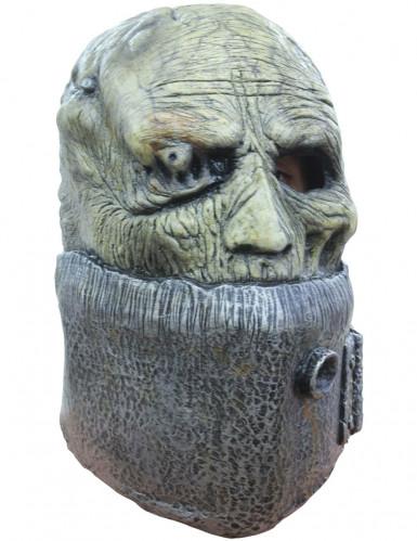 Frankenstein Army™ Maske Halloween für Erwachsene grün-grau