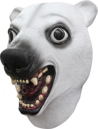 Eisbär Maske
