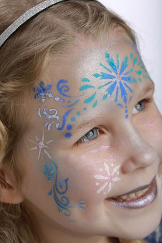 Make-up-Schablone Winter Prinzessin Grim'tout -3