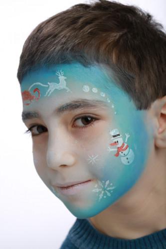 Make-up-Schablone Winter Prinzessin Grim'tout -2