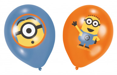 6 Minions™ Luftballons