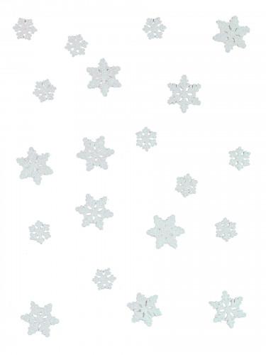 Schneeflocken-Konfetti - Die Eiskönigin™ weiss-1