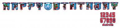 Avengers™ Happy Birthday Girlande