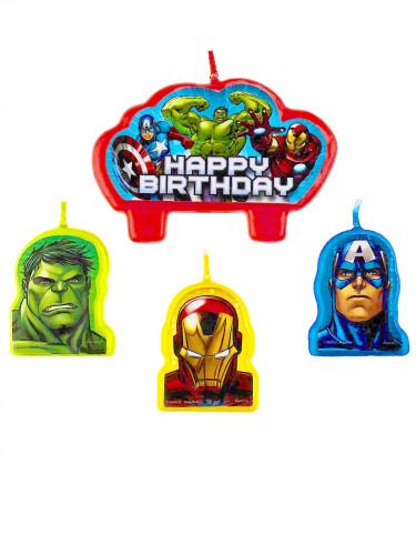 4 Avengers™ Kerzen