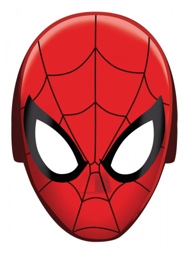 8 Spiderman™ Papier-Masken
