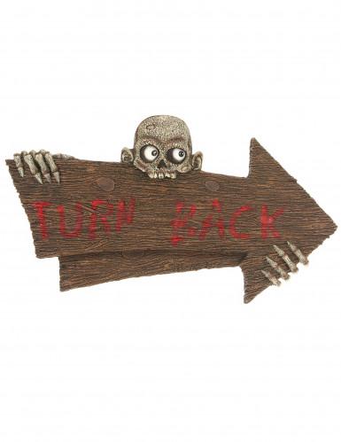 Turn Back Schild