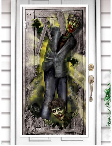 Zombie Türdekoration
