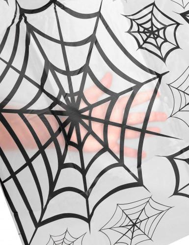 Transparente Spinnennetz Tischdecke-1