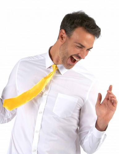Neongelbe Krawatte