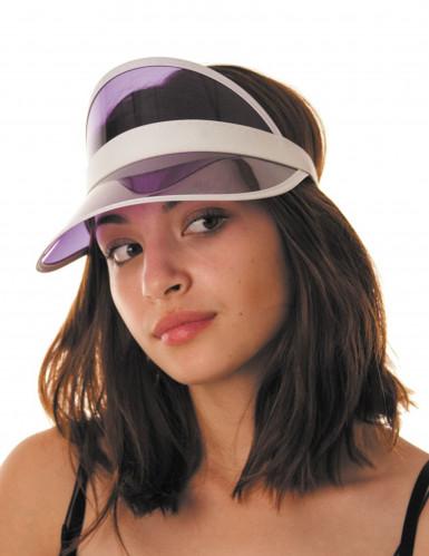 Poker Mützenschirm für Erwachene - lila