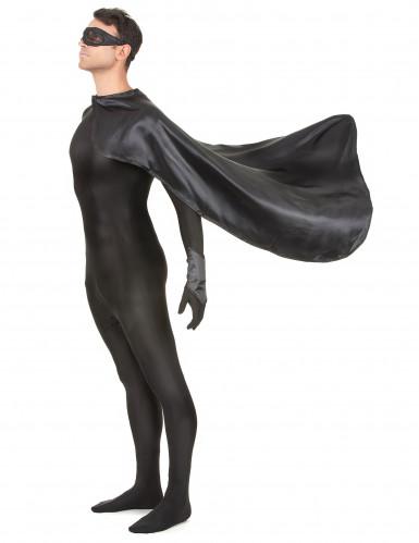 Superheldenkostüm für Frauen und Männer - schwarz-1