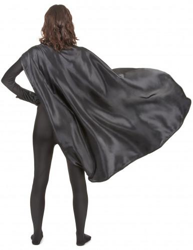 Superheldenkostüm für Frauen und Männer - schwarz-3