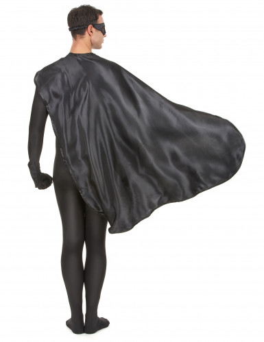 Superheldenkostüm für Frauen und Männer - schwarz-4