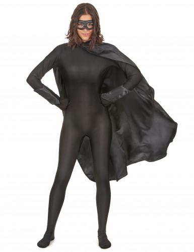 Superheldenkostüm für Frauen und Männer - schwarz-5