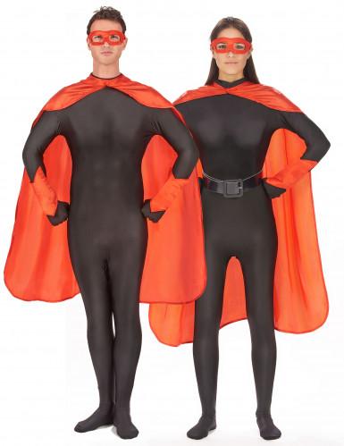 Superheldenkostüm für Frauen und Männer - rot