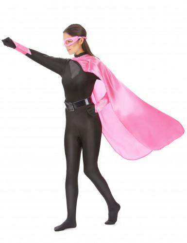 Superheldenkostüm für Frauen und Männer - rosa-1